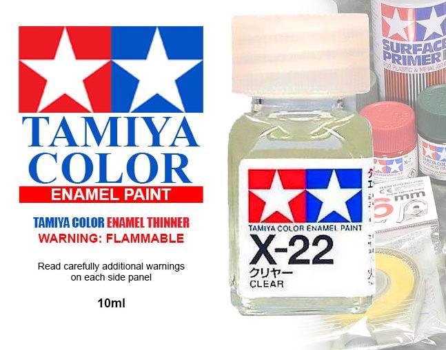ENAMEL X-22 CLEAR