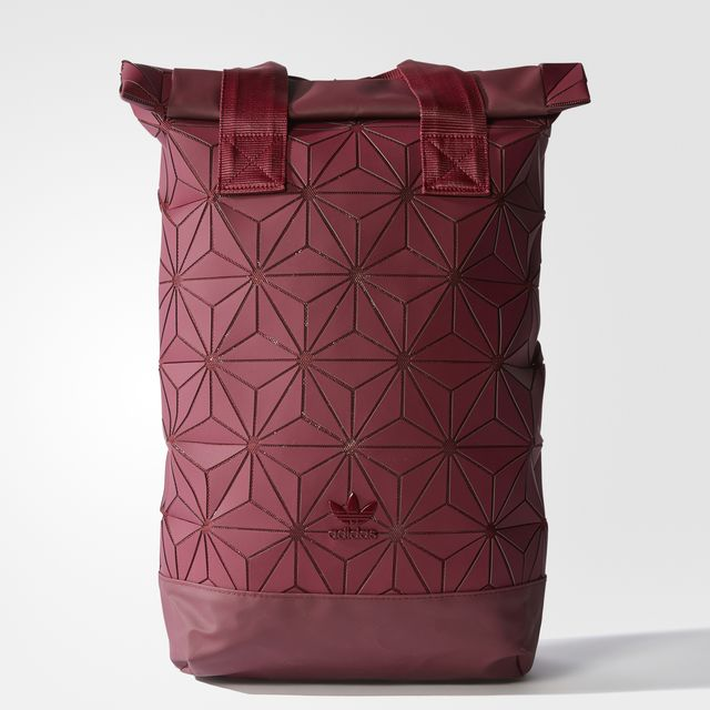 ADIDAS ORIGINALS 3D ROLL TOP BACKPACK Color Collegiate Burgundy