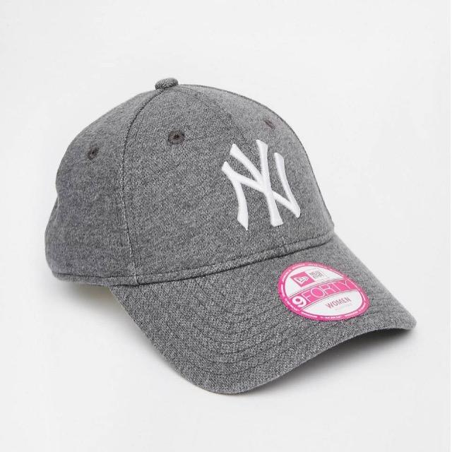 หมวก NEW ERA 9Forty Cap NY สีเทา เจอร์ซี่