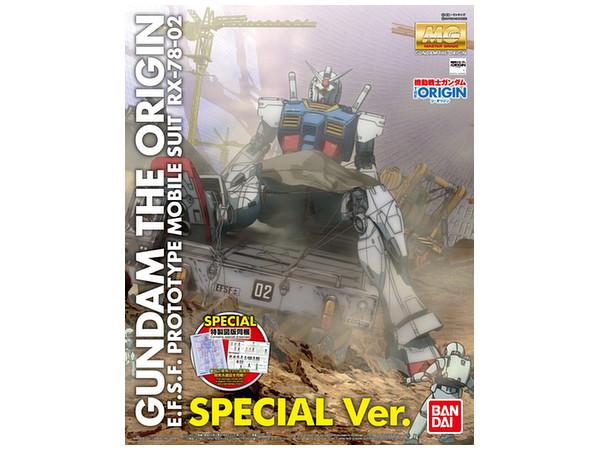 1/100 MG RX-78-2 Gundam the Origin Special Ver.