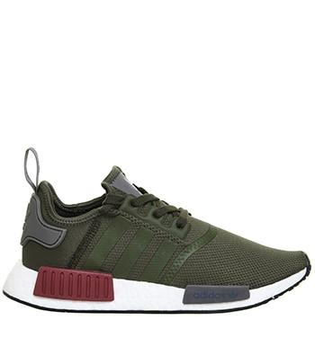 Adidas Nmd Runner Runners Khaki Maroon Exclusive Office