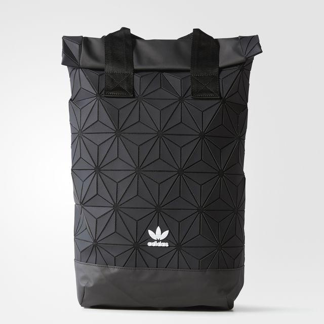 ADIDAS ORIGINALS 3D ROLL TOP BACKPACK Color Black