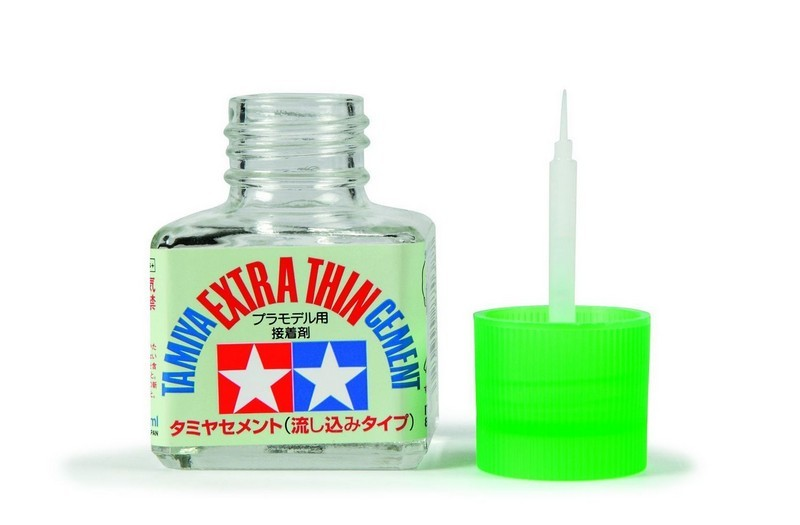 CEMENT: TAMIYA 87038 EXTRA THIN CEMENT 40ml