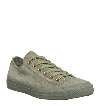 Converse All Star Low Leather Khaki Stud Exclusive