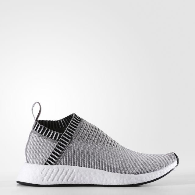 adidas NMD_CS2 PRIME KNIT Color Dark Grey Heather Solid Grey/Footwear White/Shock Pink