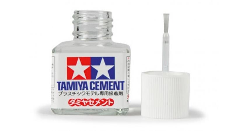 CEMENT: TAMIYA 87003 CEMENT 40ml.