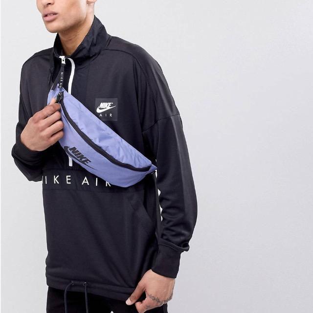 Nike Heritage Bumbag In Blue