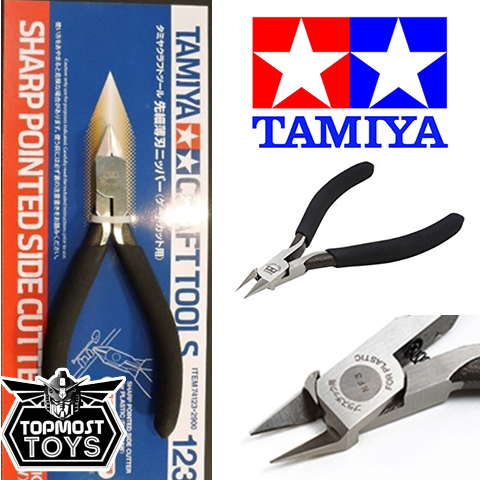 NIPPER TAMIYA 74123 SHARP POINTED SIDE CUTTER