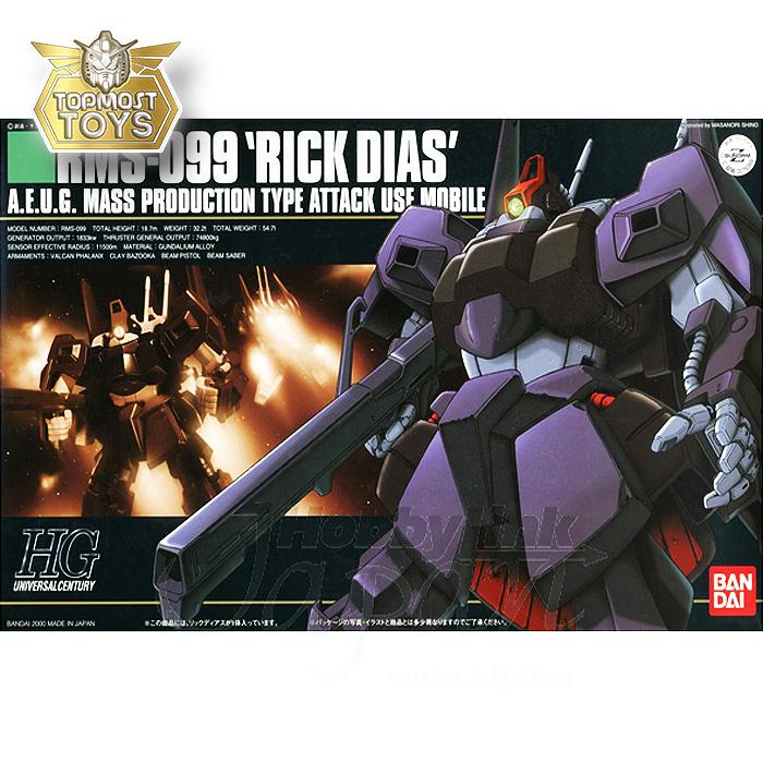 1/144 HGUC 010 RMS-099 Rick Dias