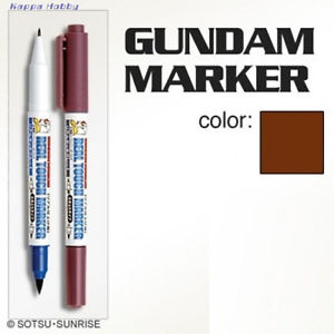 GM407 Gundam Real Touch Marker (Brown) สีน้ำตาล
