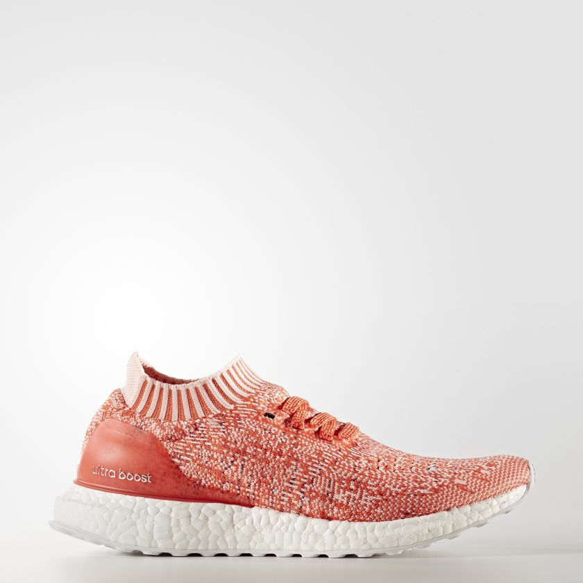 ULTRA BOOST UNCAGED SHOES Color Orange/Core Red/Icey Pink/Easy Coral