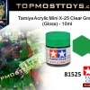 Tamiya 81525 Acrylic Mini X-25 Clear Green (Gloss) - 10ml