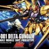 1/144 HGUC 136 MSN-001 Delta Gundam (Gold Coating)