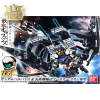 1/144 HGIBO 007 Gundam Barbatos & Long distance transport booster Kutan Type-III
