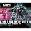 1/144 HGUC 209 RX-79BD-3 Blue Destiny Unit 3 Exam