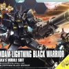 1/144 HGBF 061 GUNDAM LIGHTNING BLACK WARRIOR