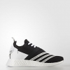 WHITE MOUNTAINEERING NMD_R2 PRIMEKNIT SHOES Color Core Black/Footwear White