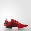 adidas NMD R1 - Red-Black-White