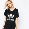 adidas Originals Adicolour Oversized T-Shirt With Trefoil Logo