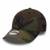 หมวก NEW ERA 9Forty Cap NY in Camo logo Black