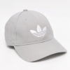 adidas Originals Trefoil Cap In Gray
