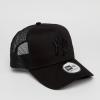 หมวก NEW ERA Trucker Cap NY ดำ โลโก้ดำ