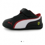 Puma Dcat SF Infants Trainers สีดำ