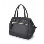 กระเป๋า Anello Boston หนัง รุ่น AT-B1213 สี BLACK
