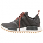 Adidas NMD_R1 - Trainers - utility black/craft chili