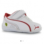 Puma Dcat SF Infants Trainers สีขาว