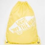 กระเป๋าเป้สะพายหลัง เชือกรูด จาก VANS สีเหลือง