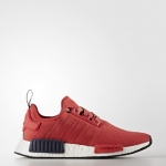 Adidas NMD_R1 - Trainers - vivid red/collegiate navy