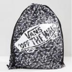 กระเป๋าเป้สะพายหลัง เชือกรูด จาก VANS ลายผีเสื้อ