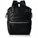 กระเป๋าเป้ Anello หนัง รุ่น AT-B1211 สี BLACK