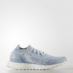 ULTRA BOOST UNCAGED SHOES Color Crystal White/Tactile Blue/Easy Blue
